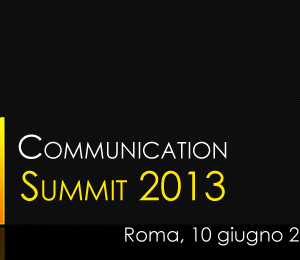 ITALIAN SMART COMMUNICATION SUMMIT 2013