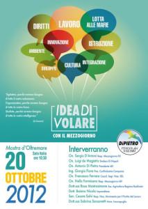 2012.10.20 - Napoli (Convegno, Idea di volare con il Mezzogiorno)